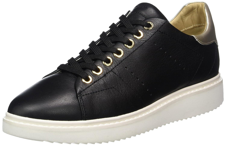 Geox D Thymar a, Zapatillas para Mujer 38 EU Negro (Black)