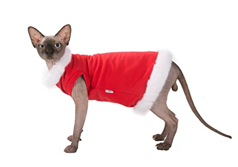 Kotomoda ropa para gatos Papá Noel (L)