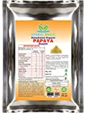 Herbal Magic's 100% Pure & Natural Pesticide Free 100G Organic Green Papaya Fruit Powder (Carica Papaya) – | NOT Treated/tinctured or Cooked Powder extracts | Dairy/GMO/Preservatives Free