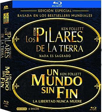 Pack Los Pilares De La Tierra + Un Mundo Sin Fin Bd Blu-ray ...