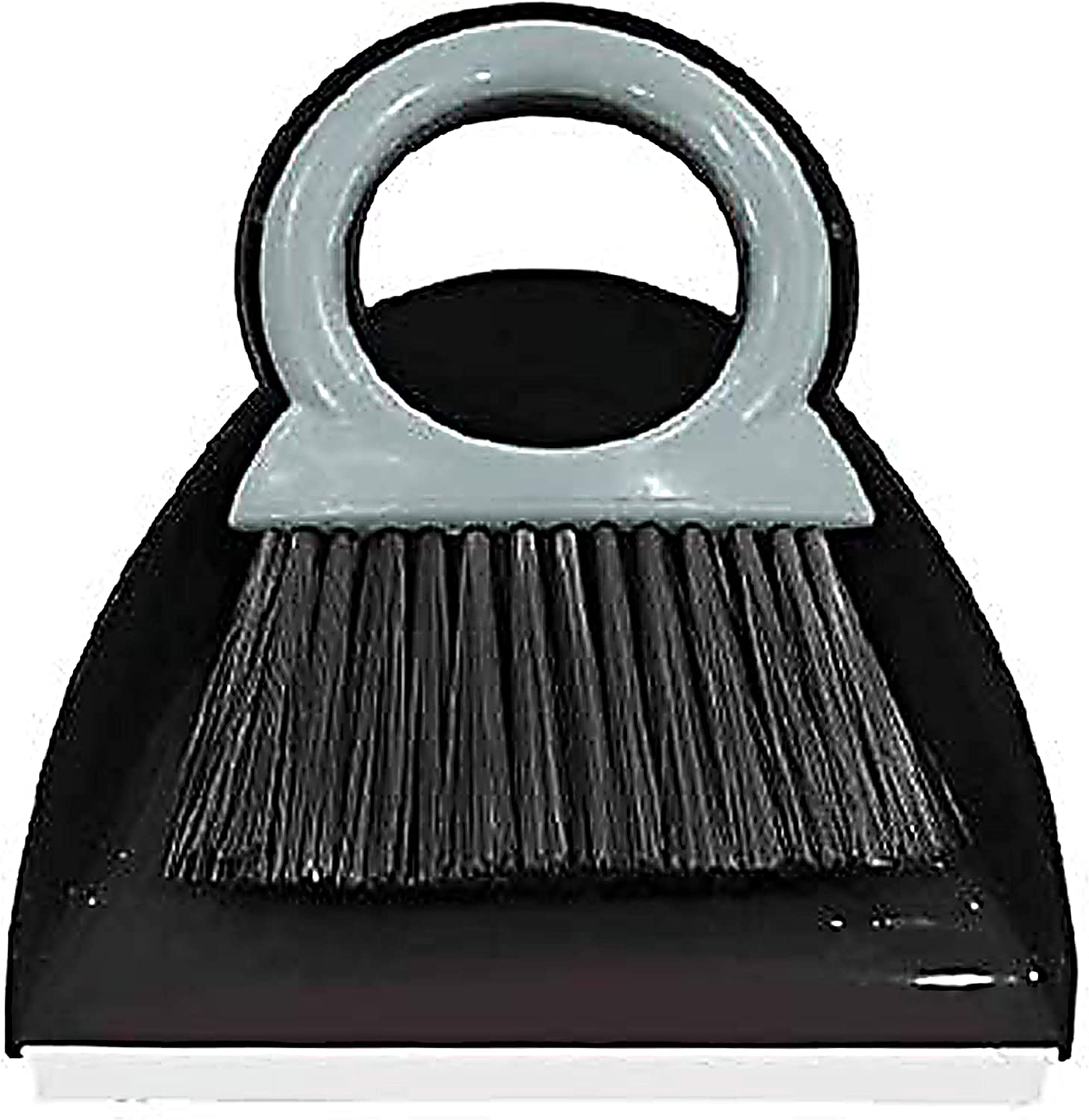 Clean Crumbs and Dirt of Tablecloths Desks and Dining Room Tables Comfortable Handle Shabbos Table Accessories by The Kosher Cook Mini Table Dustpan and Brush Strong Bristles