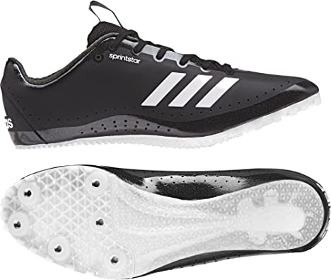 adidas Sprintstar Chaussures d'Athlétisme Femme, Noir