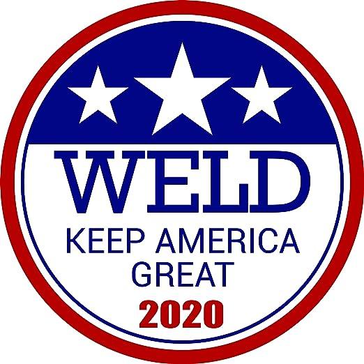 Donald Trump USA Flag Sticker Bumper Sticker Oval President Political Republican