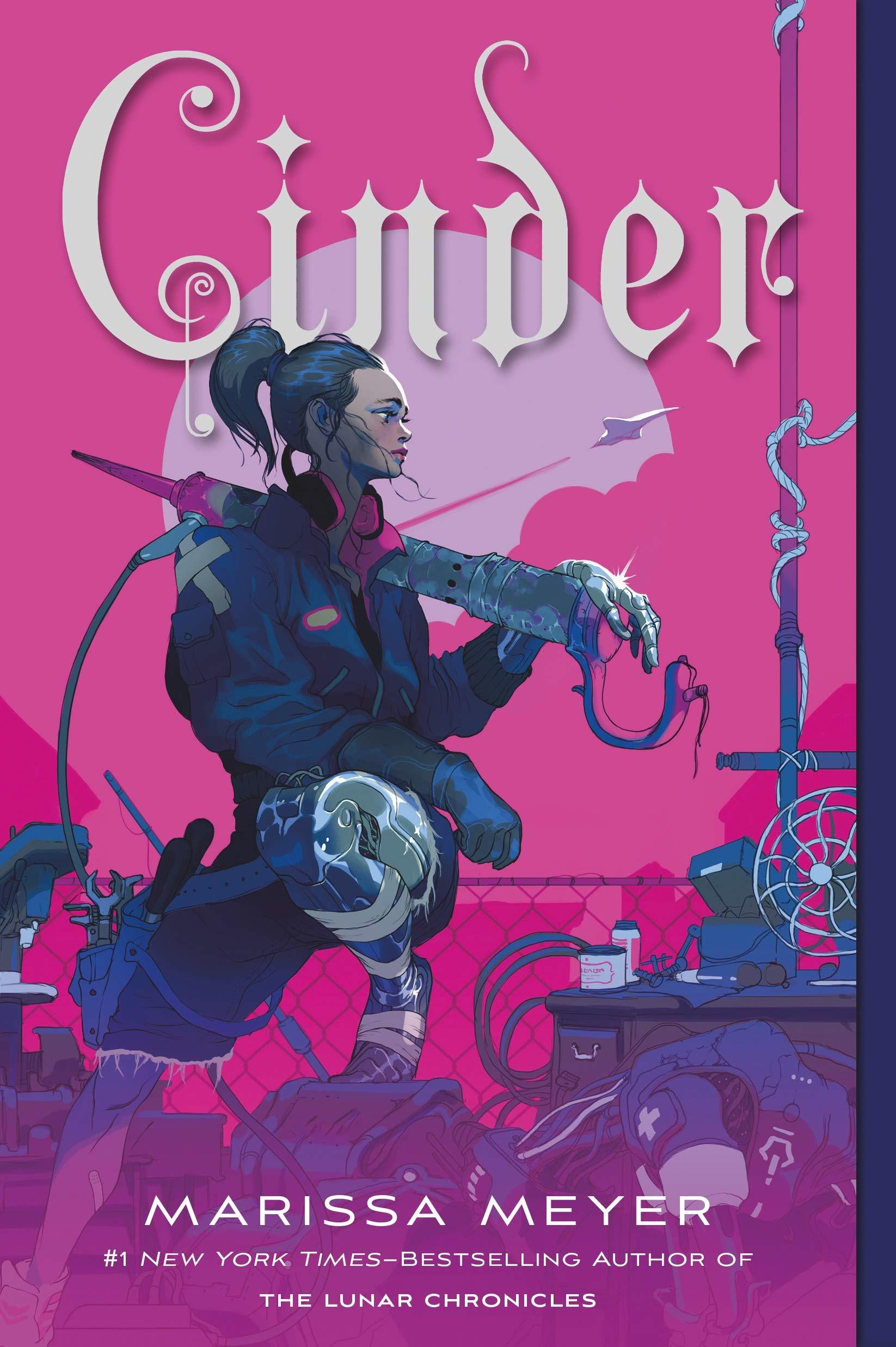 Amazon.com: Cinder: Book One of the Lunar Chronicles (The Lunar Chronicles,  1) (9781250768889): Meyer, Marissa: Books