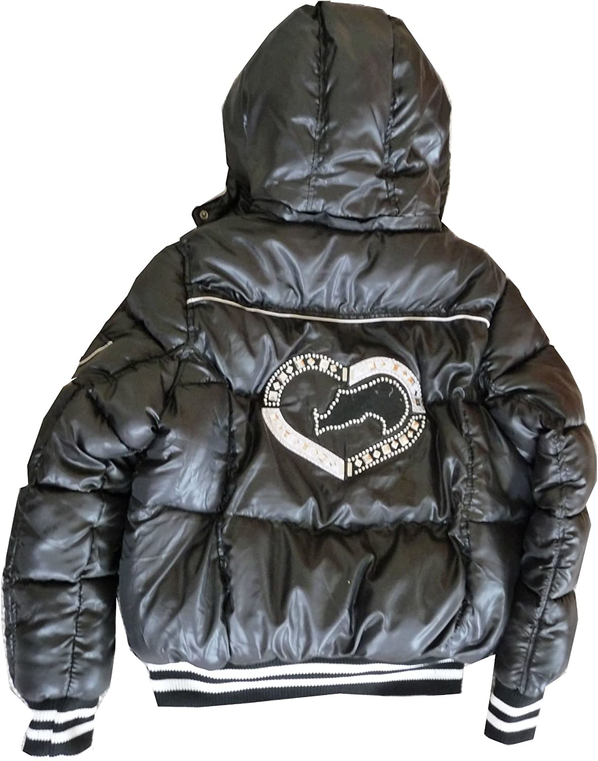 Eckored Women Stylish Down Jacket Caviar EFO0375Z CAV