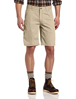 Carhartt Mens 10 Washed Twill Dungaree Short Relaxed Fit