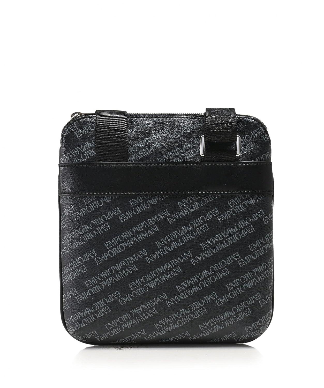 Emporio Armani Logo Print Pouch Black One Size  Armani  Amazon.co.uk   Clothing fd06d5b40d