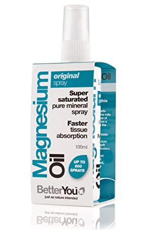 Better You MAGNESIO ACEITE ORIGINAL SPRAY 100ml: Amazon.es: Salud y cuidado personal