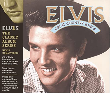 Elvis Presley Elvis Great Country Songs Music
