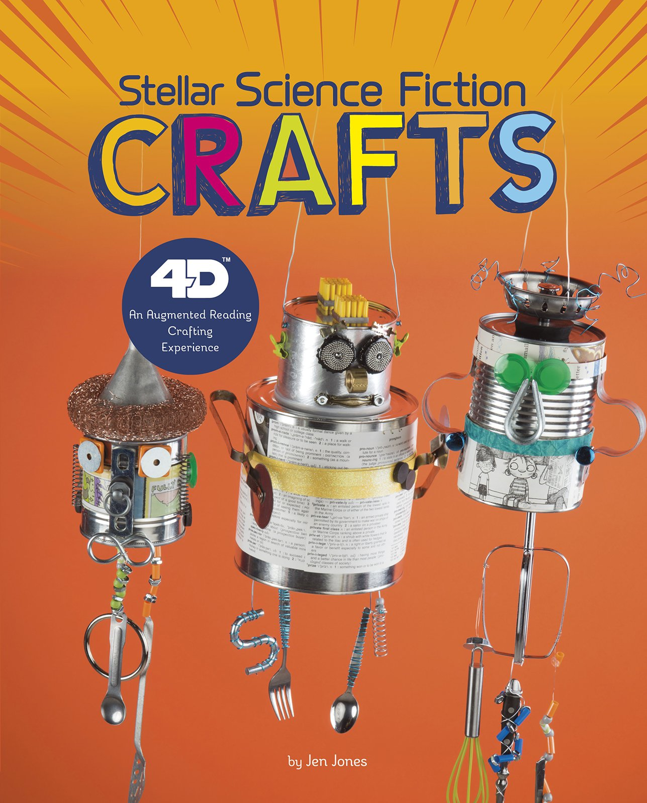 Stellar Science Fiction Crafts: 4D An Augmented Reading Crafts Experience (Next Chapter Crafts 4D)