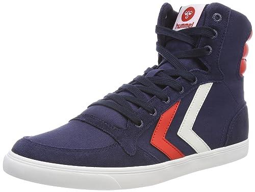 Zapatos azules vintage Hummel Stadil unisex qgTYjwwC