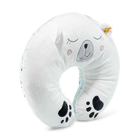 Steiff 240386 Soft Cuddly Friends Iggy oso polar manta cojín ...