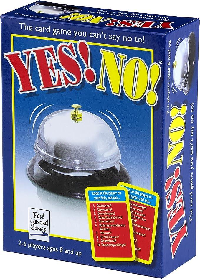 Paul Lamond Yes! No! - Juego de Mesa (en inglés) [Importado de Gran Bretaña]: The Yes! No! Game: Amazon.es: Juguetes y juegos