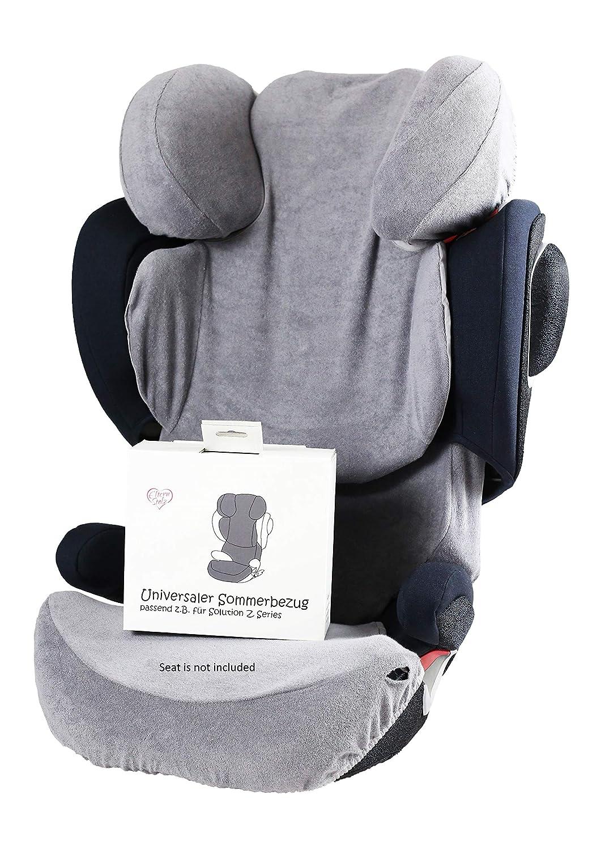 Sommerbezug Schonbezug Universal Grau Passend Für Cybex Solution Z Fix Baby