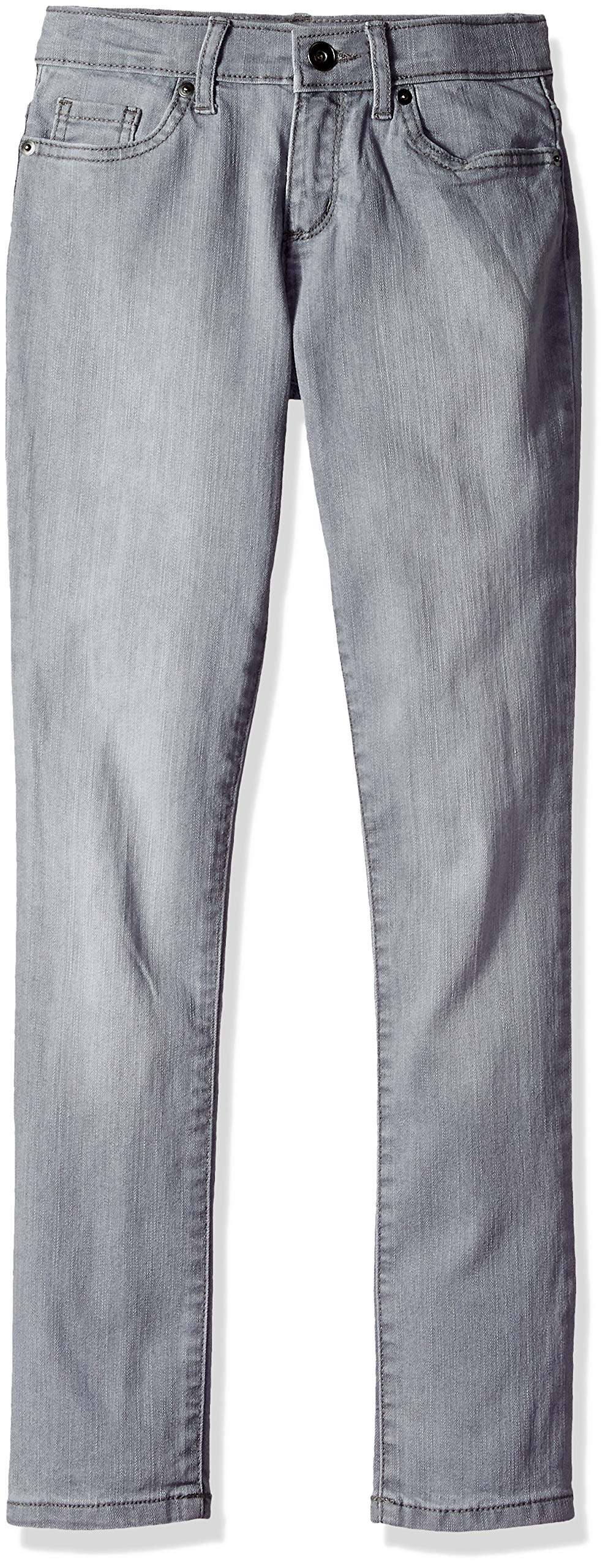 The Children's Place Big Girls' Skinny Jeans, GRANITEWSH, 8 Plus by The Children's Place