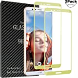 [2 Pack]Huawei Honor 7X Screen Protector,Setber [Full Coverage][2.5D Arc Edges][9 Hardness][Anti-Scratch][Anti-fingerprint][HD Clear]Tempered Glass Screen Protector for Huawei Honor 7X
