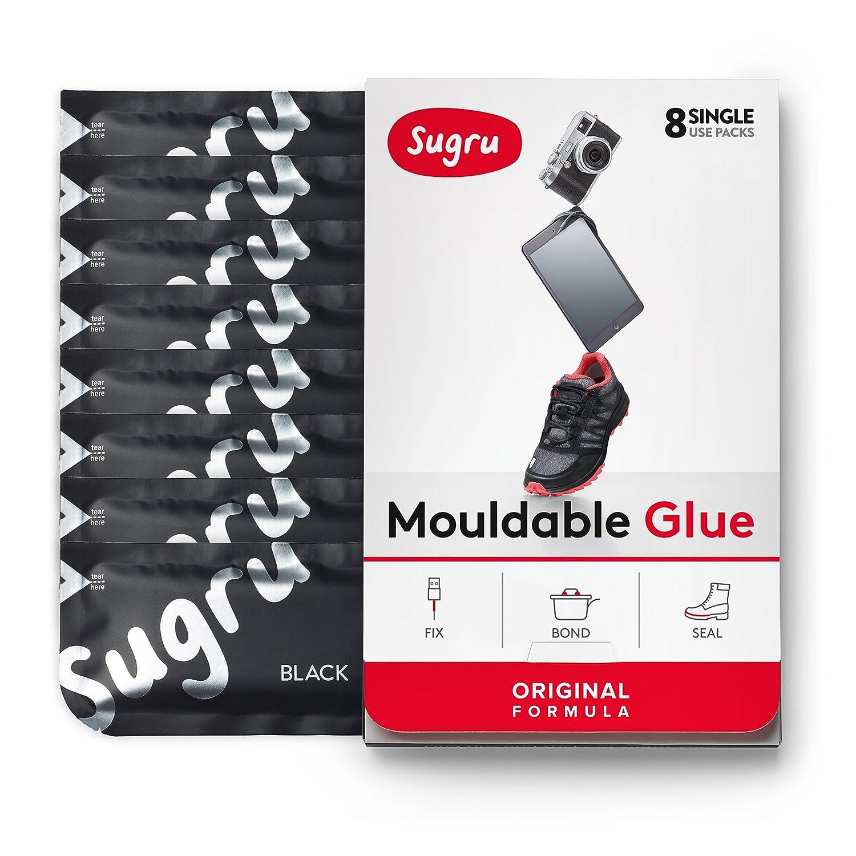 Sugru SBLK Goma adhesiva para reparaciones unidades color negro