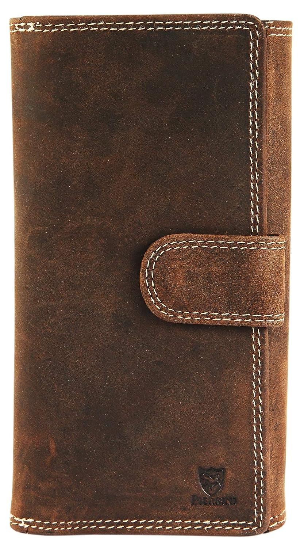4cb67f91bdb35 Pierrini PR0004 Damen Echtleder Portemonnaie Brieftasche Geldbeutel 3x9x18  Zentimeter  Amazon.de  Koffer
