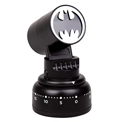 Buy Dc Comics Batman Kitchen Timer Bat Signal Lights Up When Done Cook Like A Super Hero Father S Day Justice League Gift For Men Online In Turkey B07kcnsf2g
