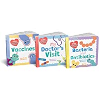 Baby Medical School Board Book Set: Learn about Vaccines, Antibiotics, and Staying Healthy with this Science for…