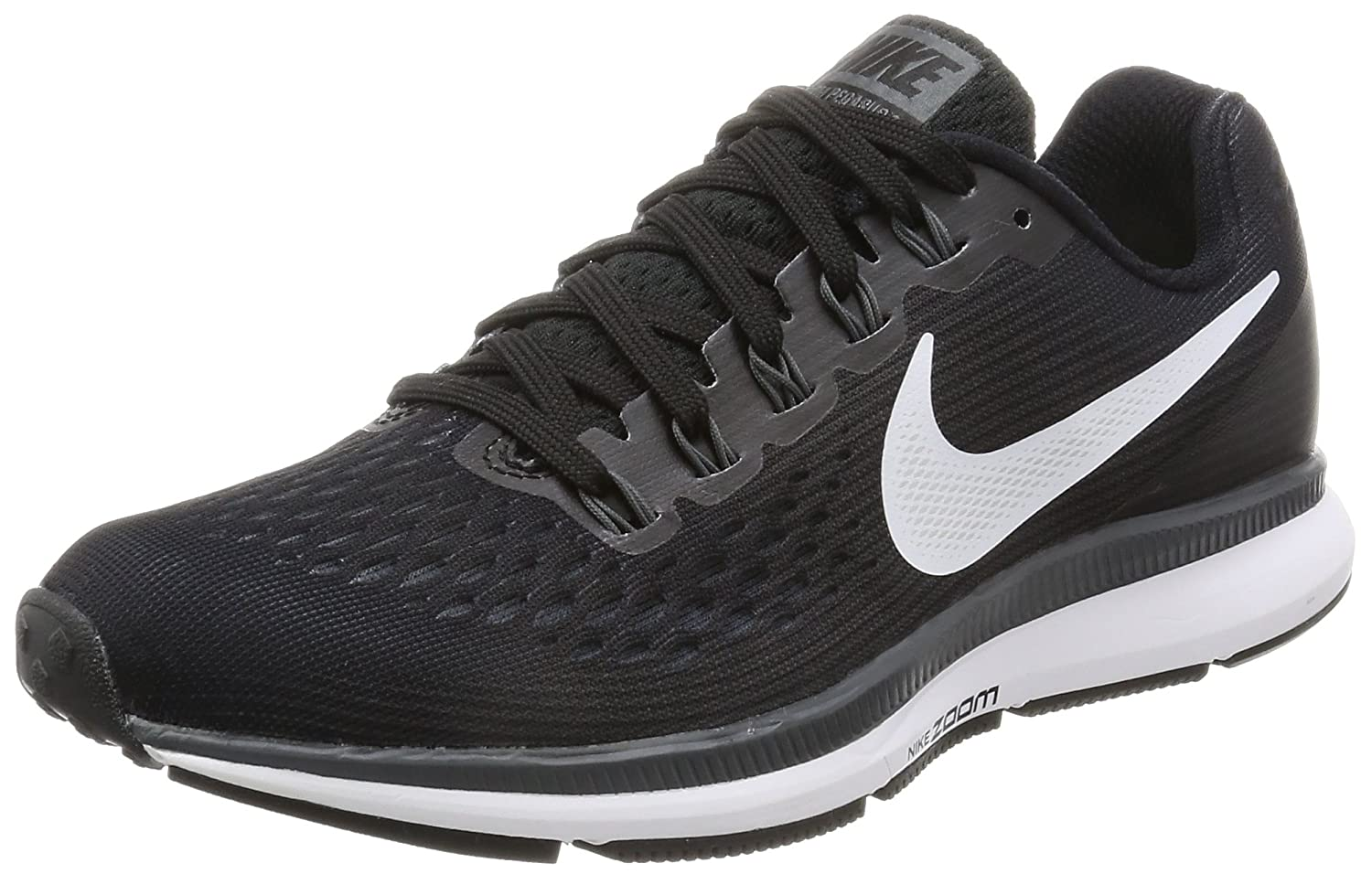 Amazon.com | Nike Womens Air Zoom Pegasus 34 Black/White/Dark Grey/Anthracite Running Shoes (8) | Road Running