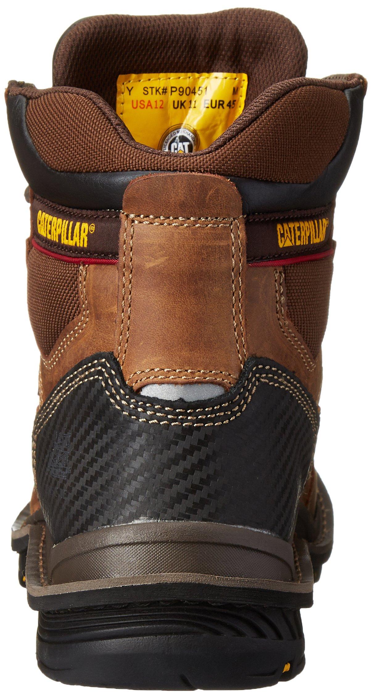 Caterpillar Men's Fabricate 6 Inch Tough Waterproof Comp Toe Work Boot, Brown, 14 M US by Caterpillar (Image #2)