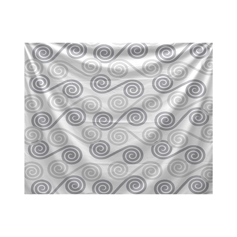 E by design Rip Curl Geometric Print Tapestry 50x60 Blue