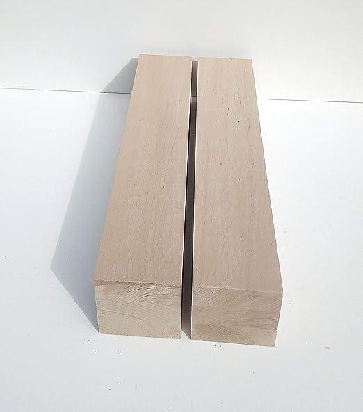 drechseln 4 Tischf/ü/ße Kanth/ölzer Buche massiv Hobelware. Ma/ße : 90x90mm stark 9x9x75cm lang.