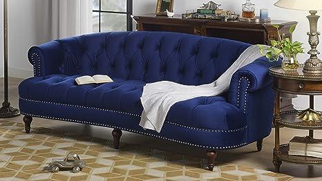 Amazon.com: La Rosa, sofá rojo, Azul marino: Kitchen ...