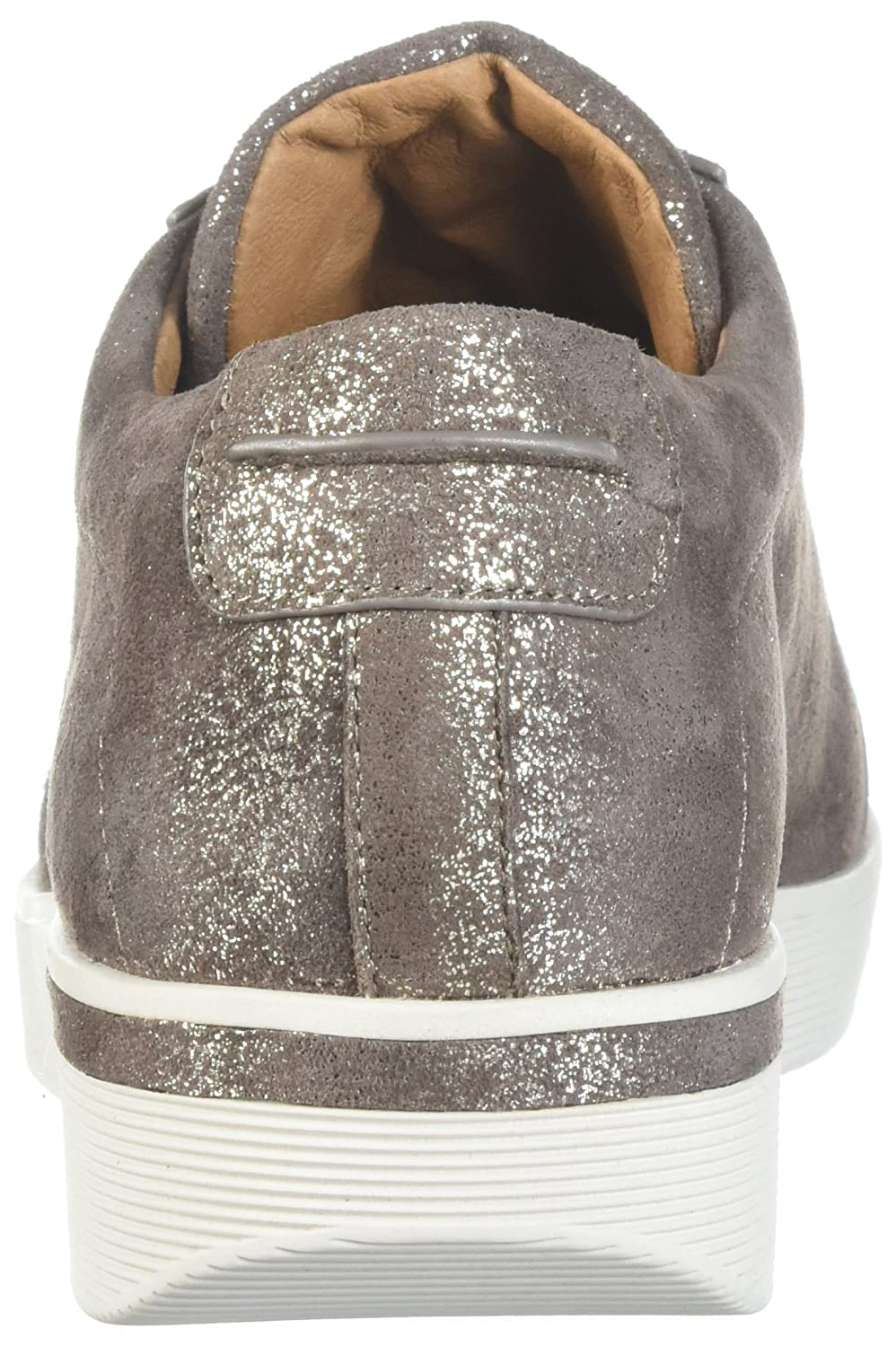 Gentle Souls by Kenneth Cole Women's Haddie Low Profile Fashion Sneaker Embossed Fashion Sneaker B076V8KS8D 8.5 M US|Cocoa
