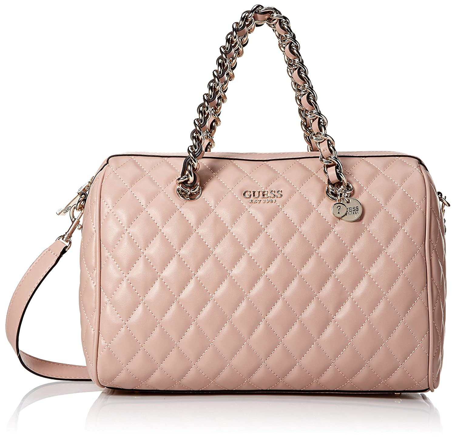 Guess BAULETTO DONNA ROSA SWEET CANDY LARGE SATCHEL: Amazon