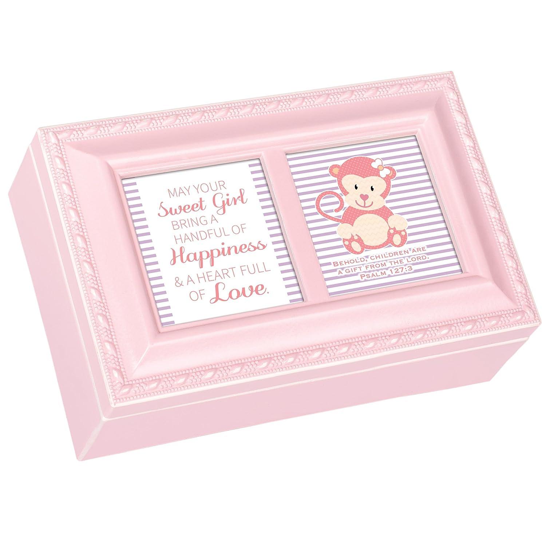 【新品本物】 Sweet Sweet Girl Me Happiness Monkey Smallパステルピンクジュエリー音楽ボックスPlays Jesus Loves B01MSLG2J4 Me B01MSLG2J4, 盆提灯 雛人形 五月兜の布袋屋本舗:6ed581c1 --- arianechie.dominiotemporario.com