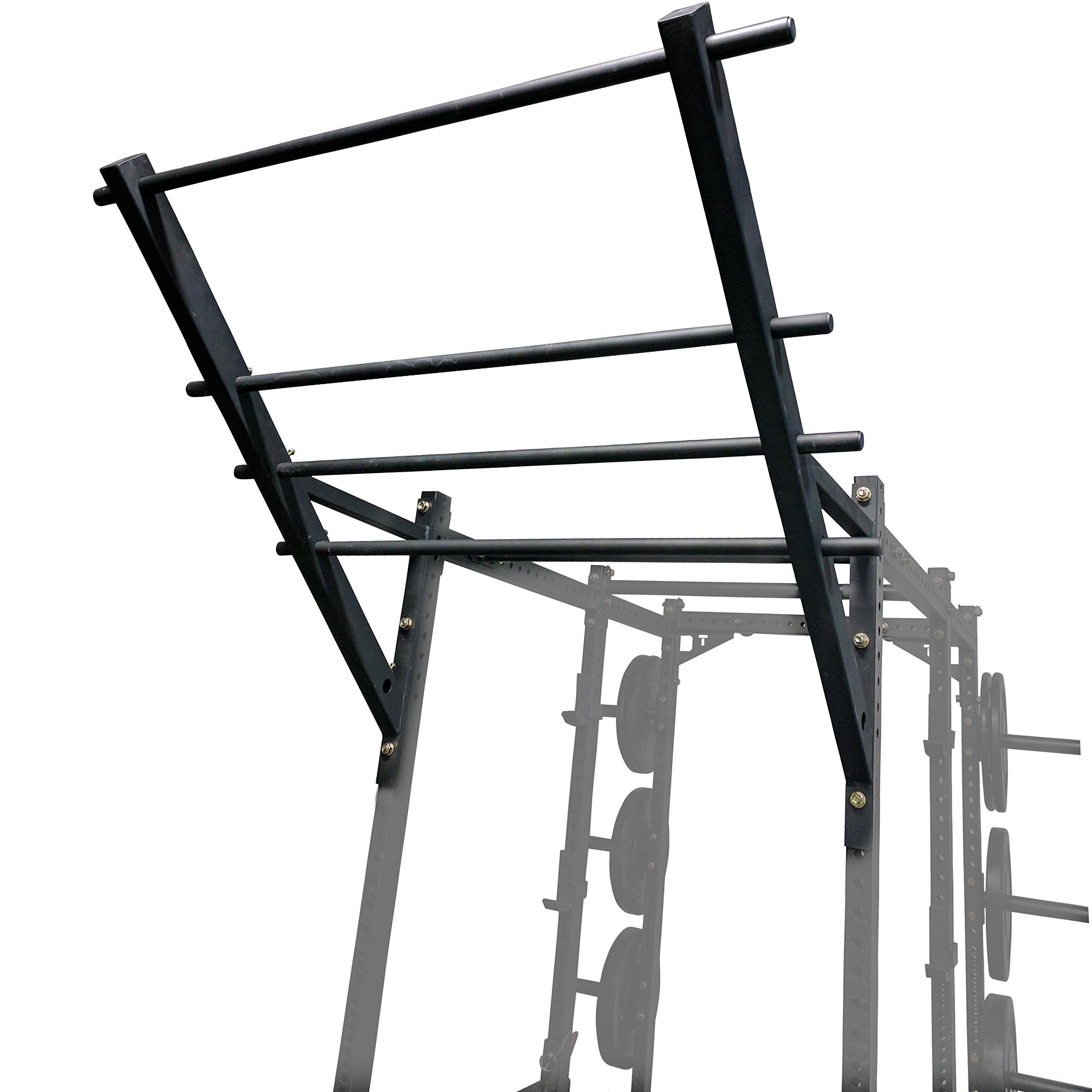 Titan Flying Ladder Pull-Up Chin Up Bar For Power Racks