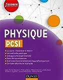 Physique PCSI (J'assure aux concours)