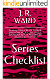 J R WARD SERIES CHECKLIST - Reading Order of BLACK DAGGER BROTHERHOOD, FALLEN ANGELS, BOURBON KINGS, BLACK DAGGER LEGACY, FIREFIGHTERS (English Edition)