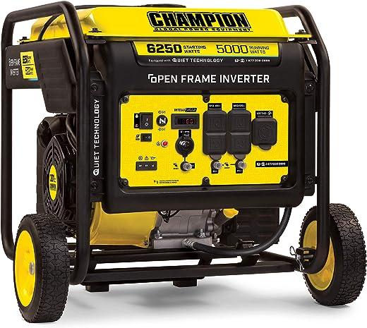 Champion Power Equipment 100519 6250-Watt Open Frame Inverter with Quiet Technology