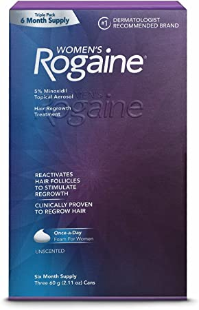 Brand NEW Women s Rogaine Hair Regrowth Treatment 6 Months Supply Shipping Fast Packaging varies