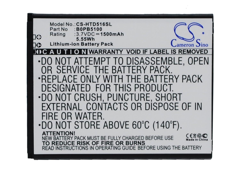 ビントロンズ交換バッテリーfor HTC d516、d516 C B00XJXMO6I