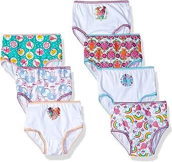 Dreamworks Toddler Girls' 7-Pack Trolls Underwear Panty
