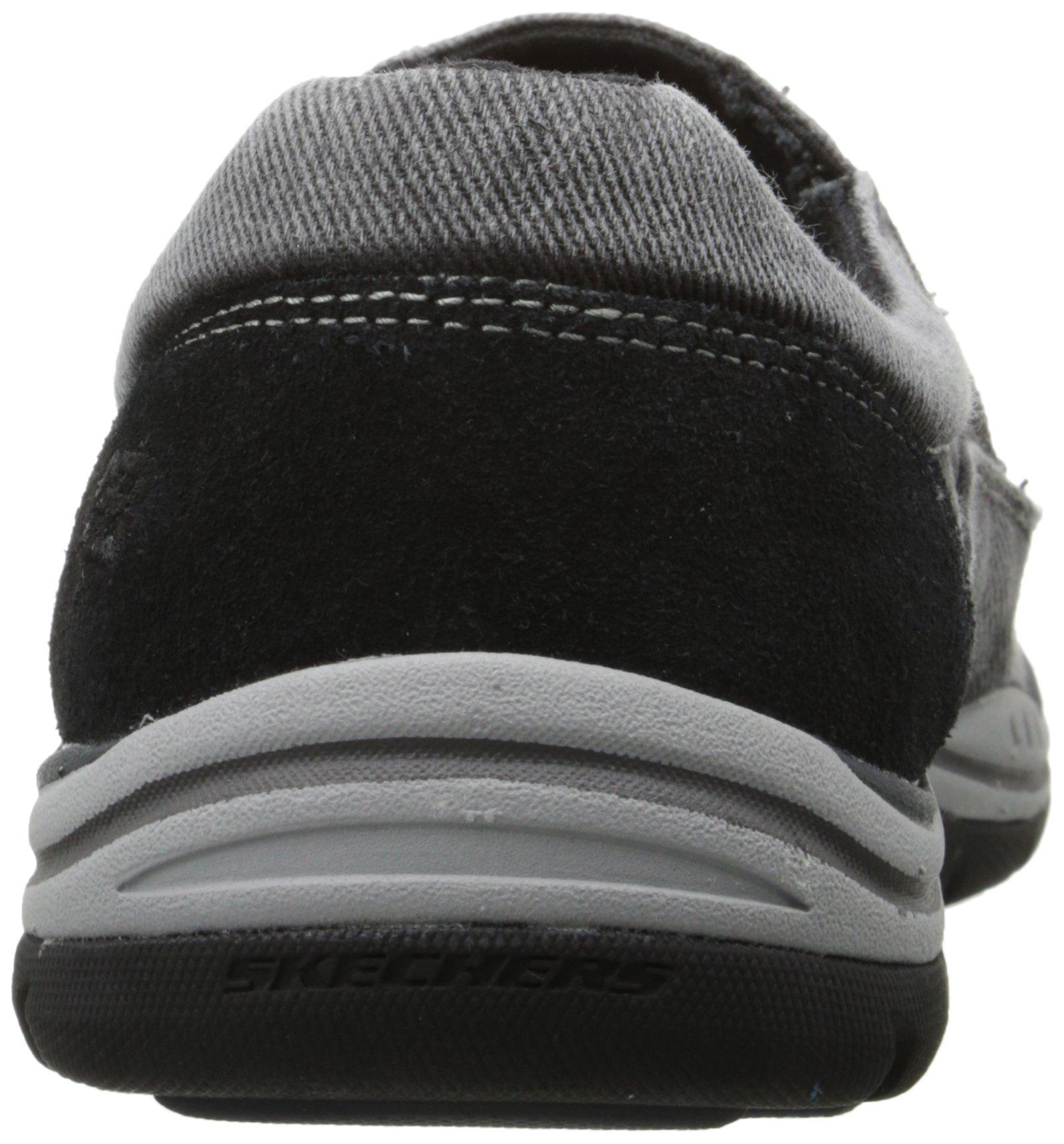 Skechers Men's Expected Avillo Relaxed-Fit Slip-On Loafer,Black,13 M US by Skechers (Image #2)