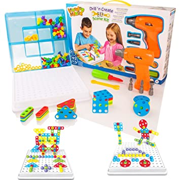 Syosin Design Drill Take Apart Toy Creative Stem Educational