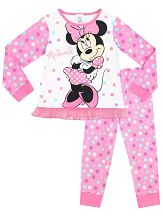 Disney Girls Minnie Mouse Pyjamas  Amazon.co.uk  Clothing 285feccbd