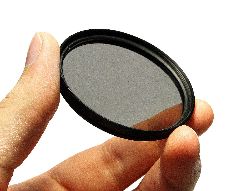 CPL Circular Polarizer Glare Shine Polarizing Filter for Nikon AF NIKKOR 50mm f/1.2 f/1.4 f/1.4D f/1.8D Lens by PhotoCentral