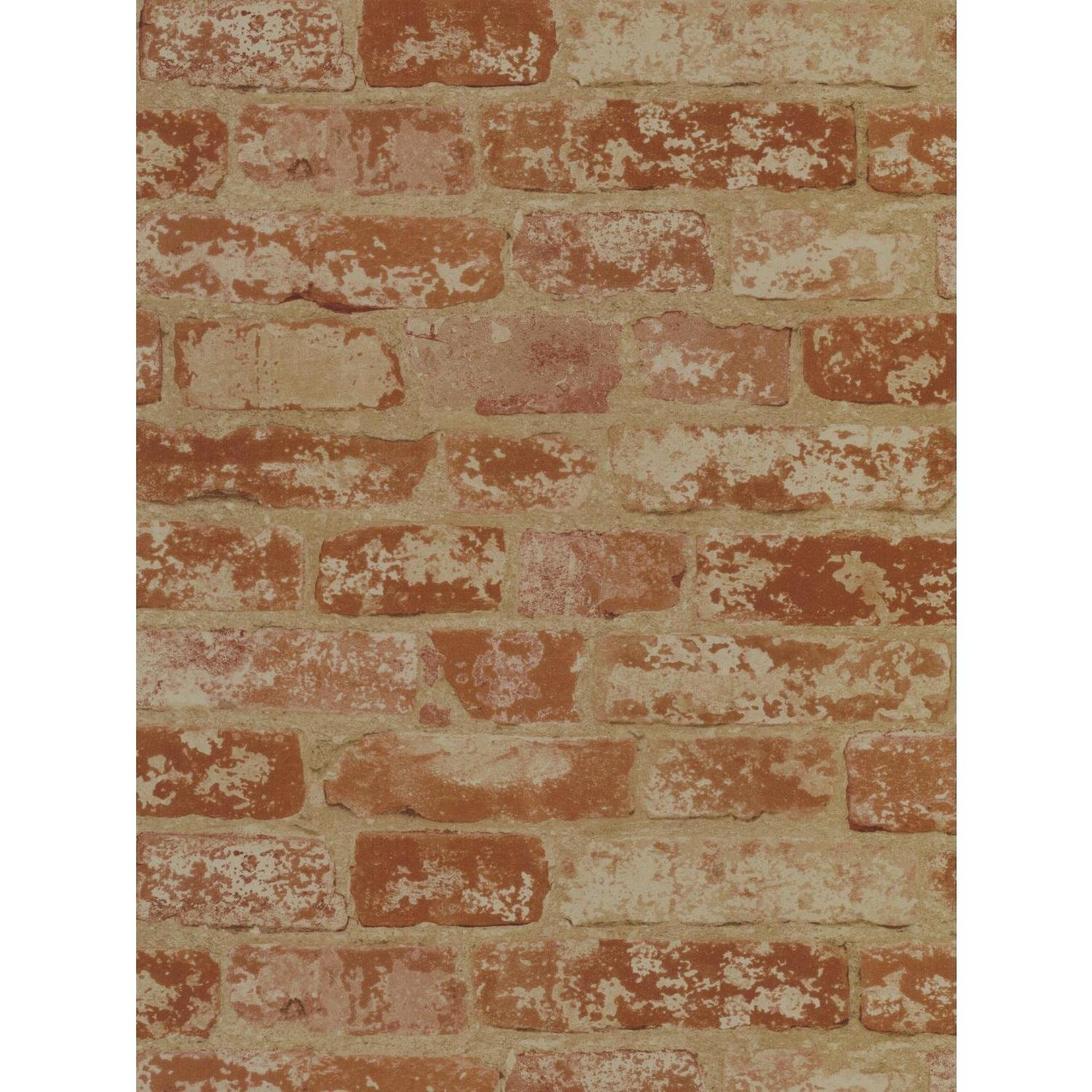 York Wallcoverings Wall In A Box BZ9206 Stuccoed Brick Wallpaper- Ultra Removable