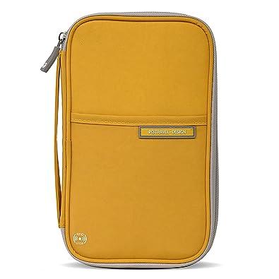 クロース(Kroeus)多機能パスポートケース スキミング防止 防撥水 おしゃれ パスポートバッグ