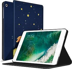 Ayotu iPad Mini 1 Case,Mini 2 Cover Mini 3 Slim Stand Smart Cover with Auto Wake/Sleep Protective Colorful Cover for iPad Mini 1 / Mini 2 / Mini 3-The Boy and Fox
