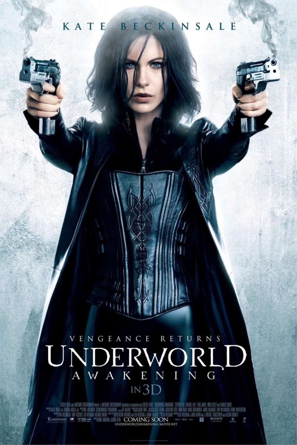 Underworld: Awakening Movie Classic Poster Silk Wall Home Decorative Painting -Kate Beckinsale