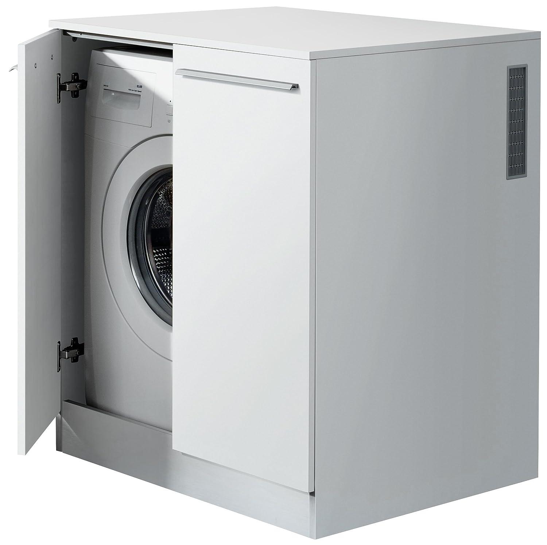 Wunderbar Waschmaschine Einbauschrank Beste Wahl Fackelmann Waschmaschinen-chrank Für Waschmaschinen / Farbe Weiß