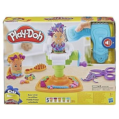 Play-Doh Buzz 'n Cut Fuzzy Pumper Barber Shop Toy: Toys & Games