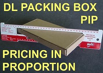 50 x DL tamaño Royal Mail buzón~para precio en proporción de cartón cajas de